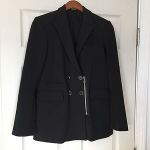 Express black blazer Moto style Size M